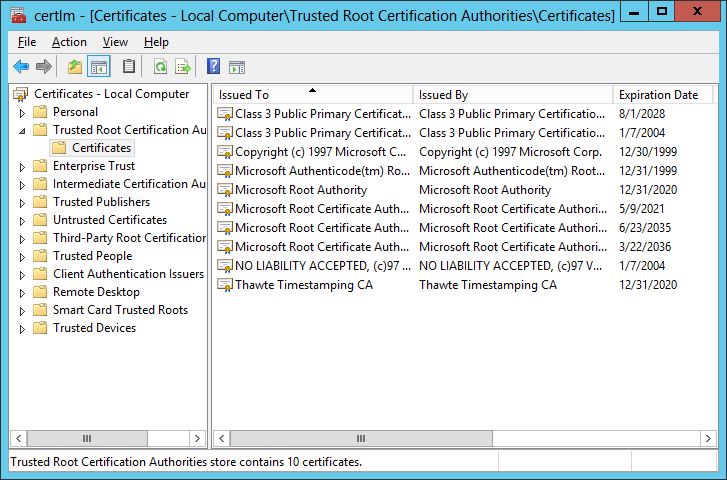 Which Root Cas Do You Really Trust Microsoft Security Solutions