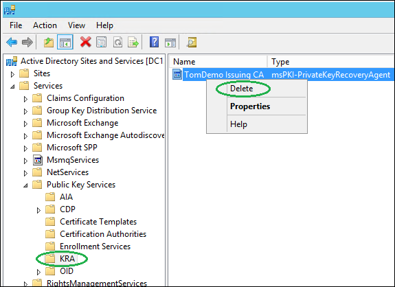 Manually remove old ca references in active directory microsoft image yelopaper Image collections