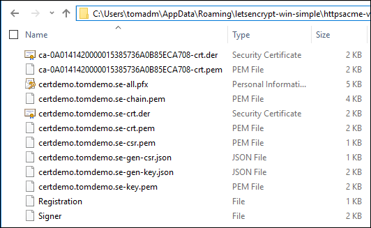 Get free SSL certificates with Let's Encrypt | Microsoft
