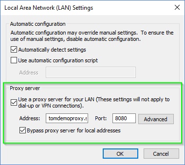 Certificate related problems when using a web proxy server - Onevinn